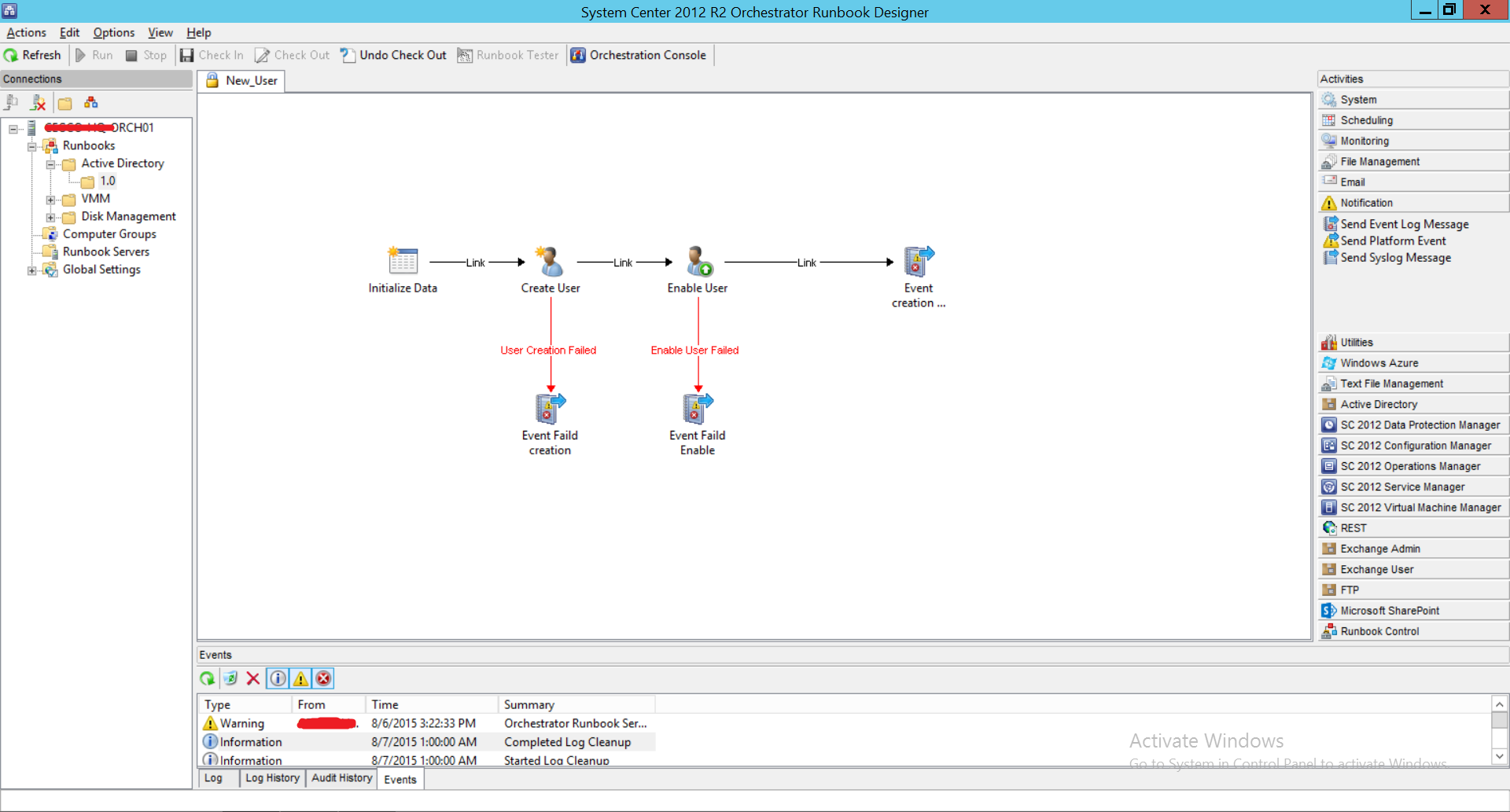 Automate User Creation with Orchestrator and Service Manager 2012 R2 ...
